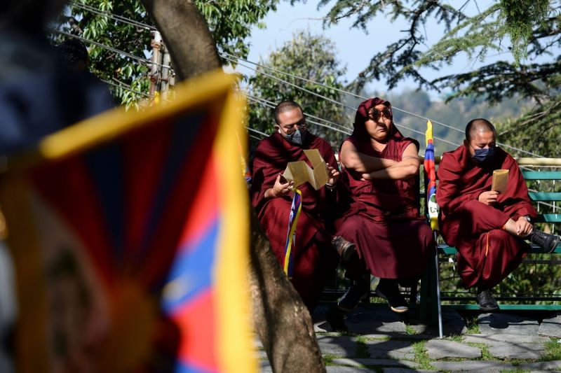 Tibetans living in exile