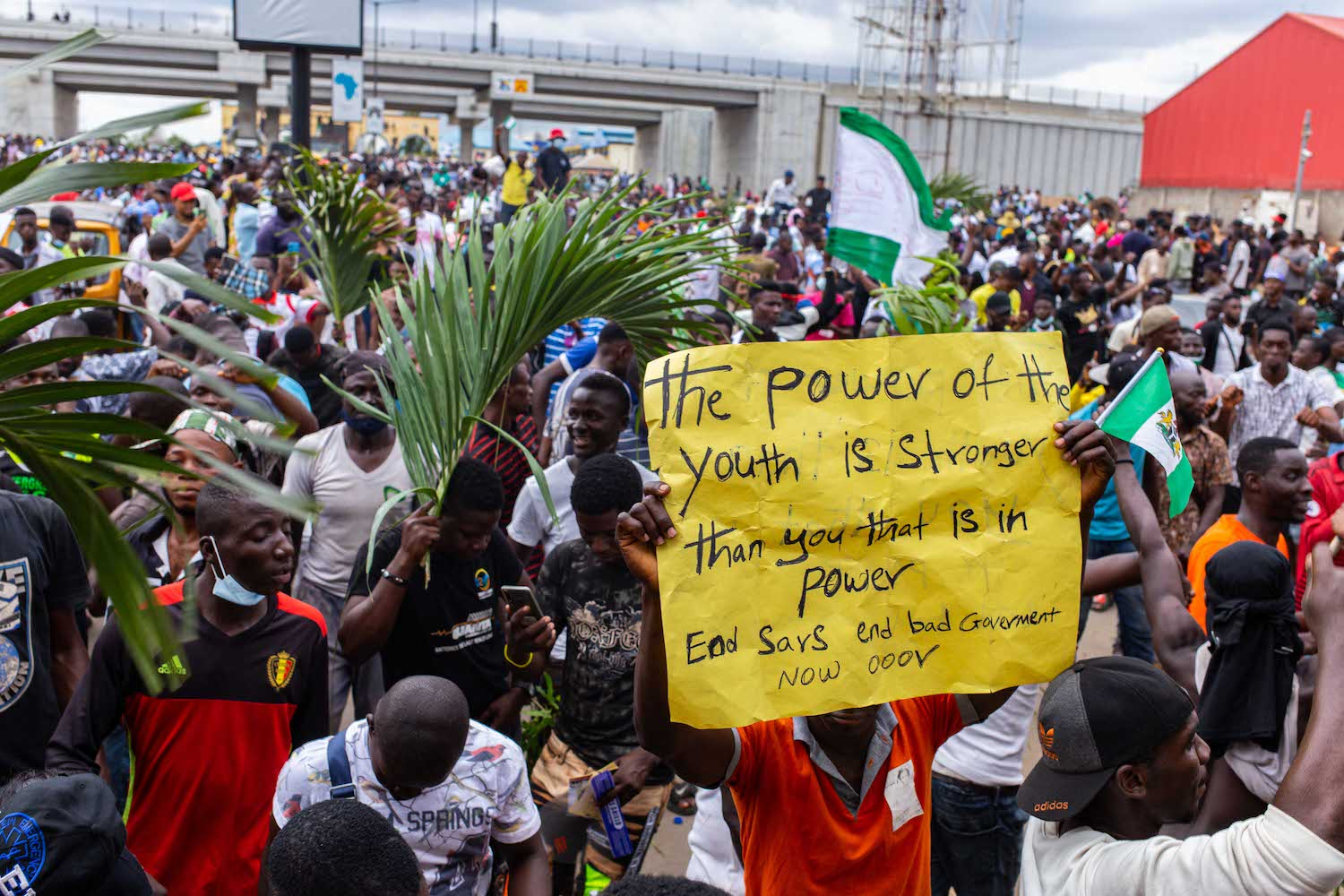 Nigeria's #EndSARS Protests Push Authorities to the Edge