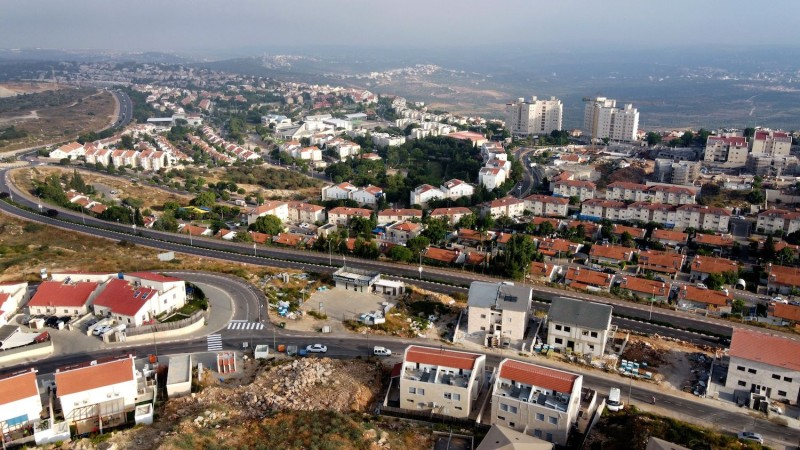 The Israeli settlement of Ariel.