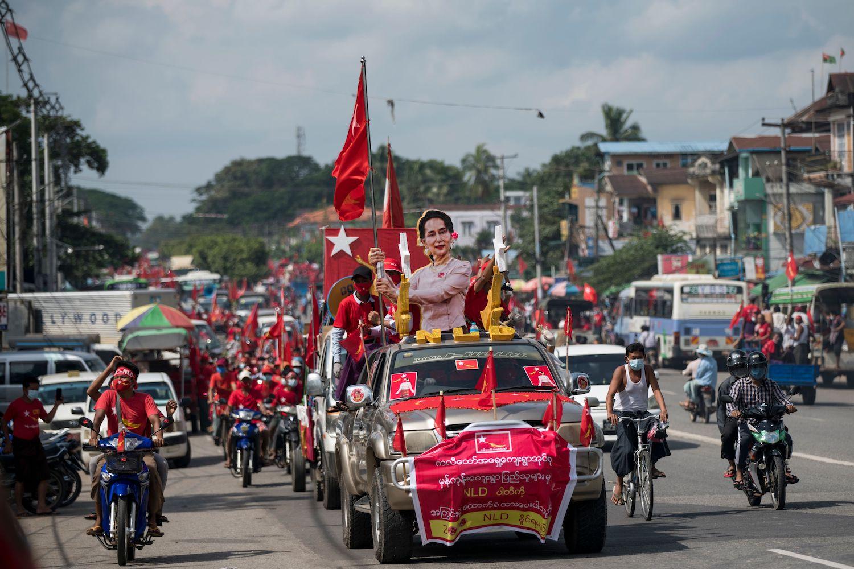 Myanmar's Elections Won't Be Democratic Under Aung San Suu Kyi's Party