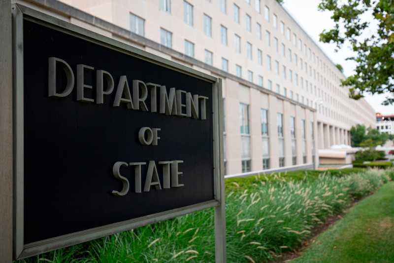 The U.S. Department of State building in Washington, DC, on July 22, 2019.