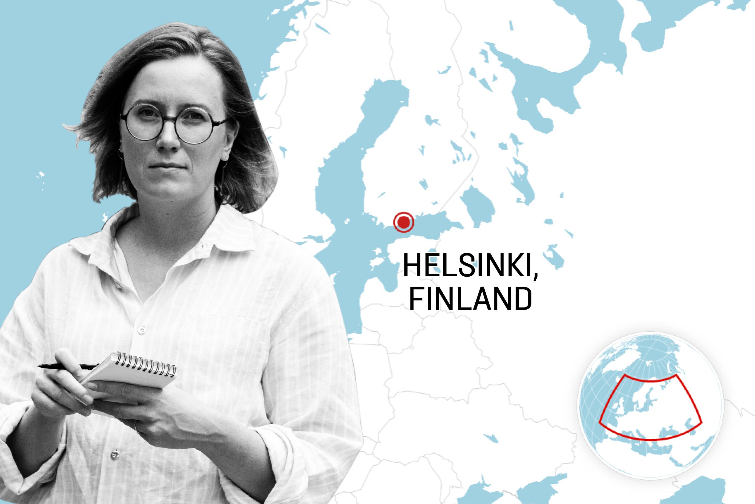 Anna-Sofia Berner, U.S. correspondent for Helsingin Sanomat.