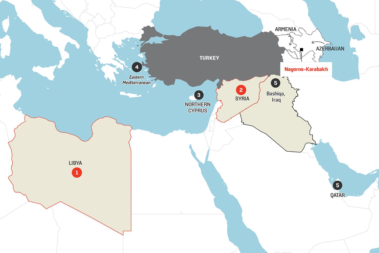 Picture of: Turkey Seeks Regional Hegemony As It Mulls Nagorno Karabakh Campaign