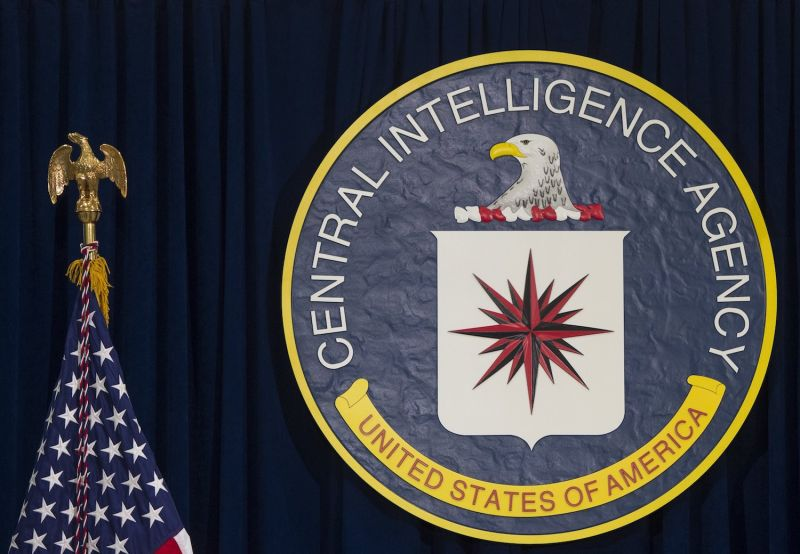 The seal of the CIA