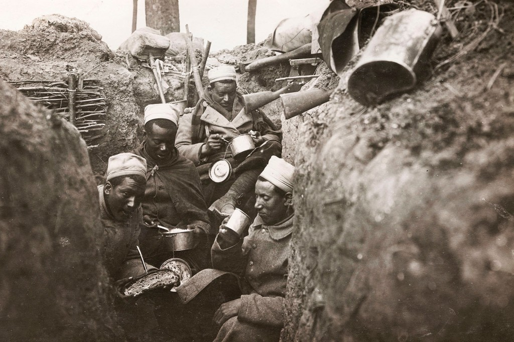 African infantrymen of the French Army in 1915