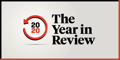 2020 The Year In Review logo