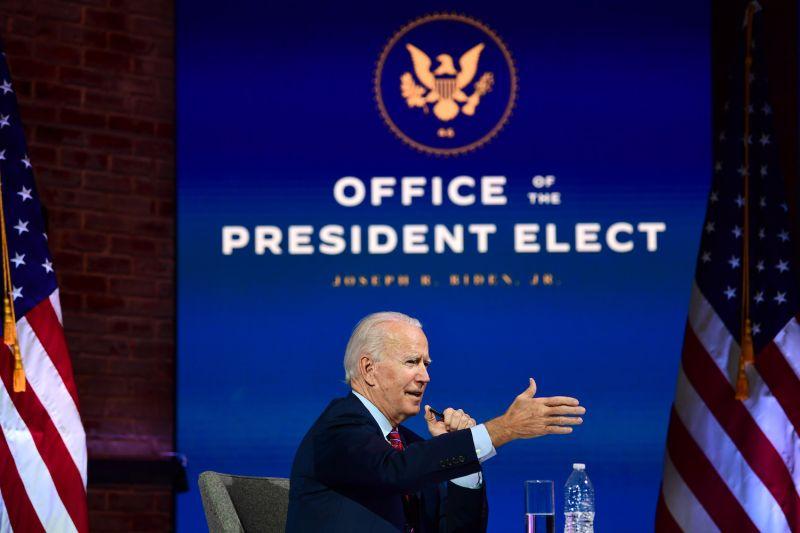 U.S. President-elect Joe Biden