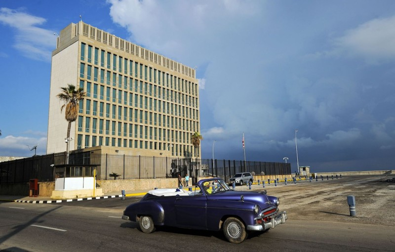 The U.S. Embassy in Havana in 2015.