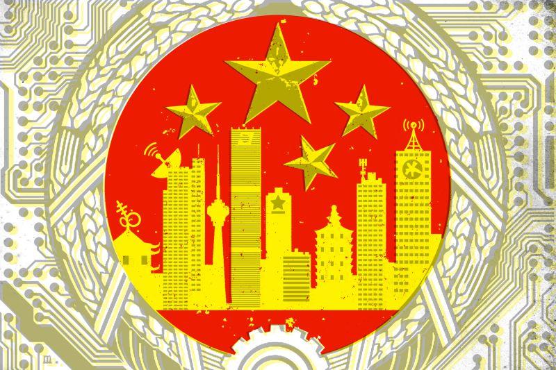 breach-us-china-surveillane-private-tech-huawei-cold-war-data-zach-dorfman-joe-magee-illustration-foreign-policy