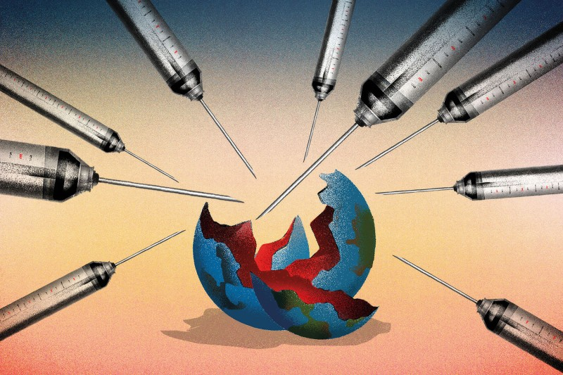 coronavirus-vaccine-predictions-2021-foreign-policy-global-thinkers-brian-stauffer-illustration