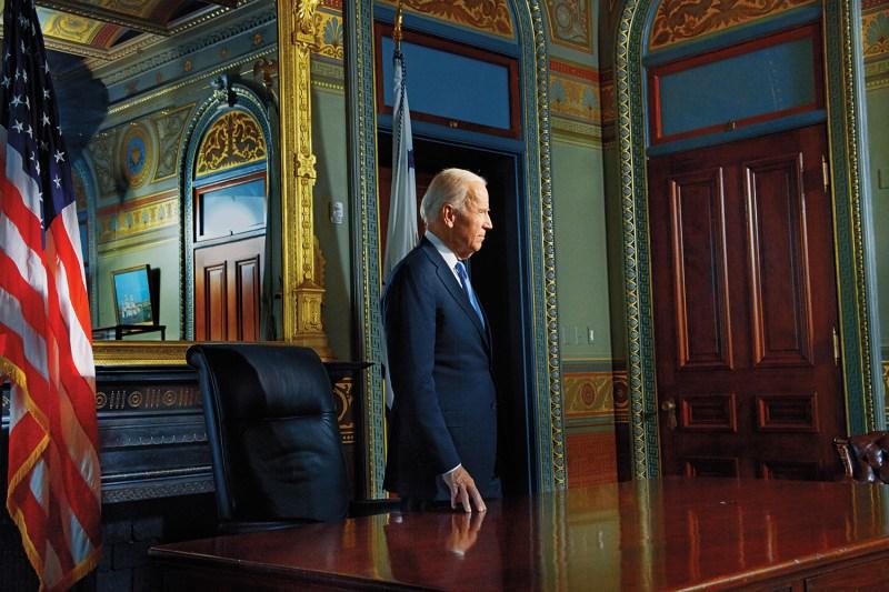 Joe Biden in Washington on Dec. 14., 2017.