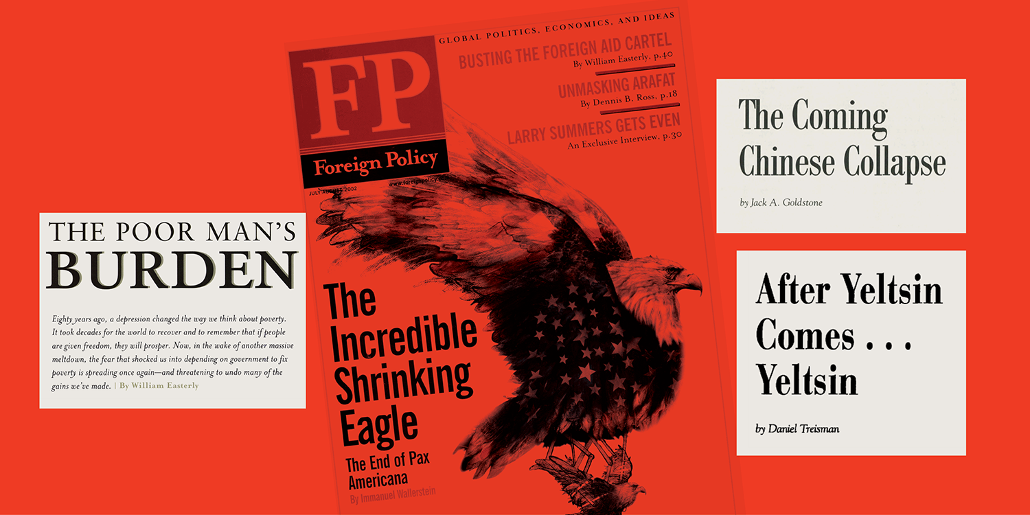 Some of the pessimistic—and often wrong—predictions from <em>Foreign Policy</em> past.