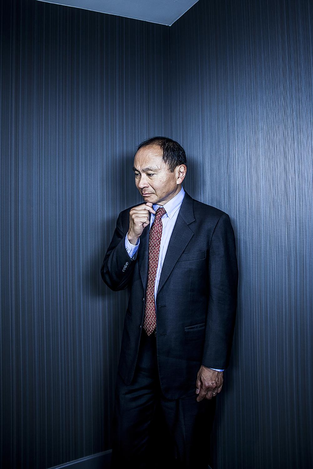 Francis Fukuyama in Paris in June 4, 2015.