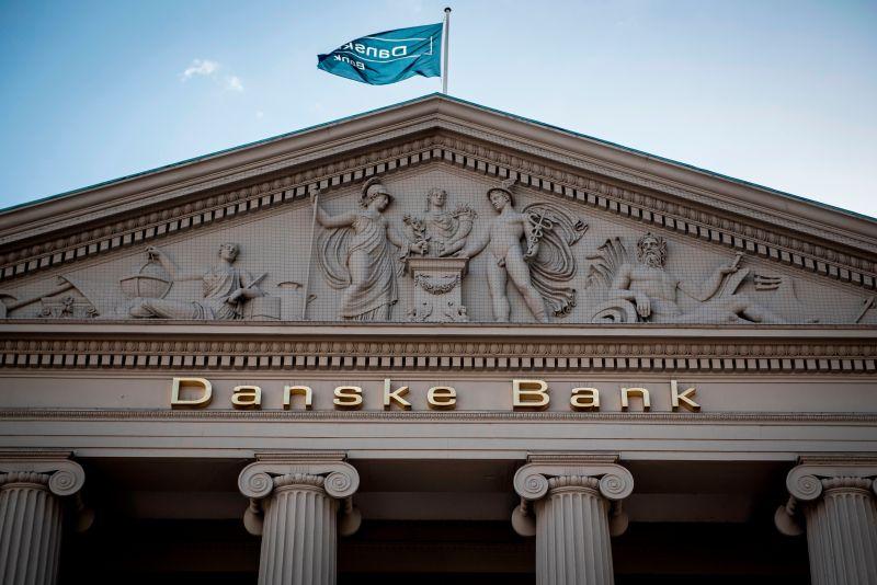 The headquarters of Danske Bank, under investigation for money laundering, in Copenhagen on Sept. 25, 2018.
