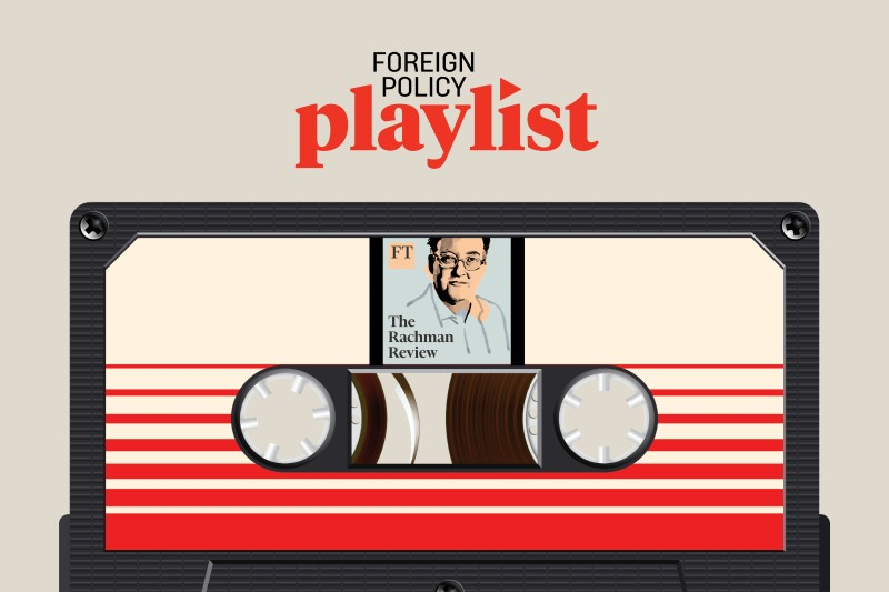You can hear Francis Fukayama himself on the Rachman Review, the podcast featured this week on Foreign Policy Playlist. Listen here or subscribe on your favorite podcast platform.