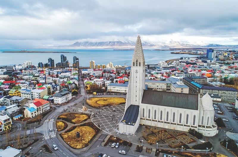 Reykjavik is regarded as the world's most sustainable capital city.