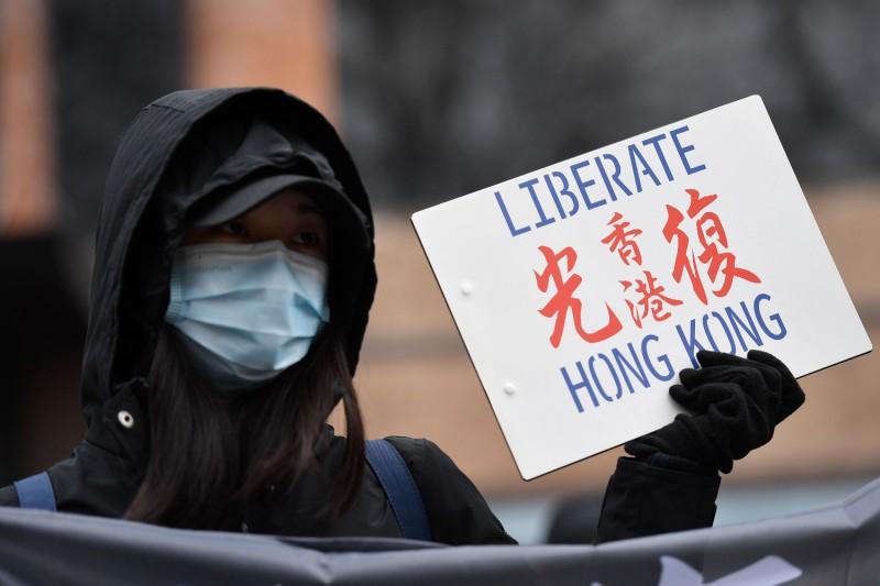 HONGKONG-CHINA-PROTEST