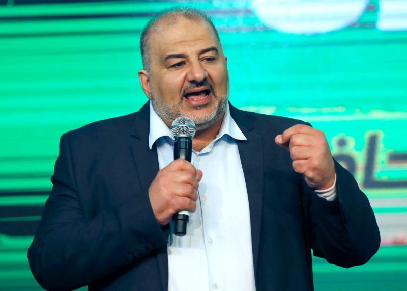 Mansour Abbas, head of the Israeli party Raam.
