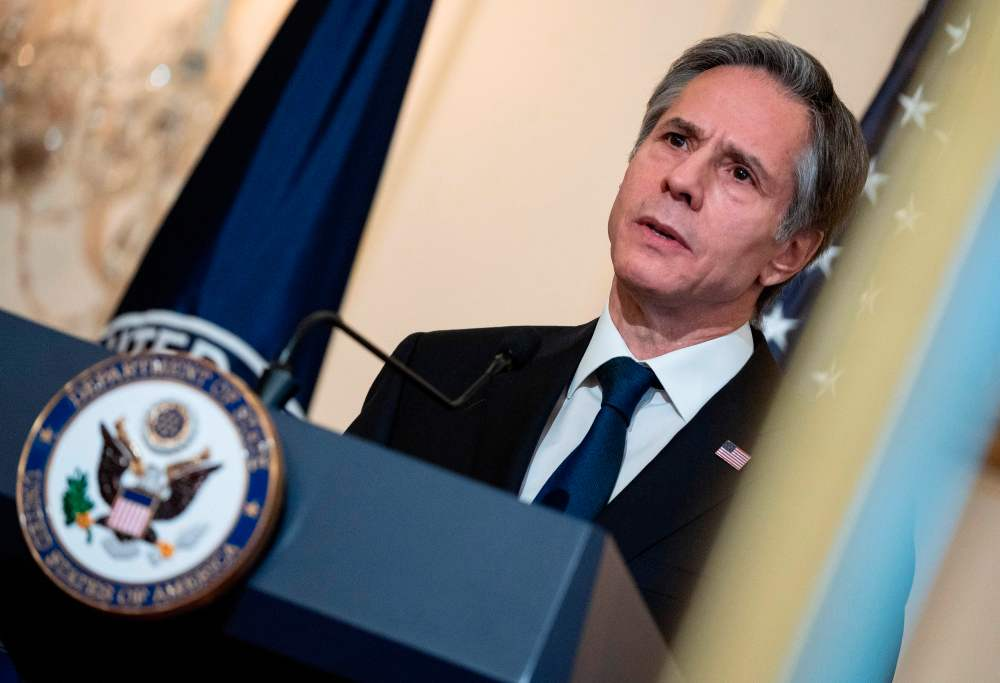 A transcript of Antony Blinken's remarks on U.S. foreign policy.