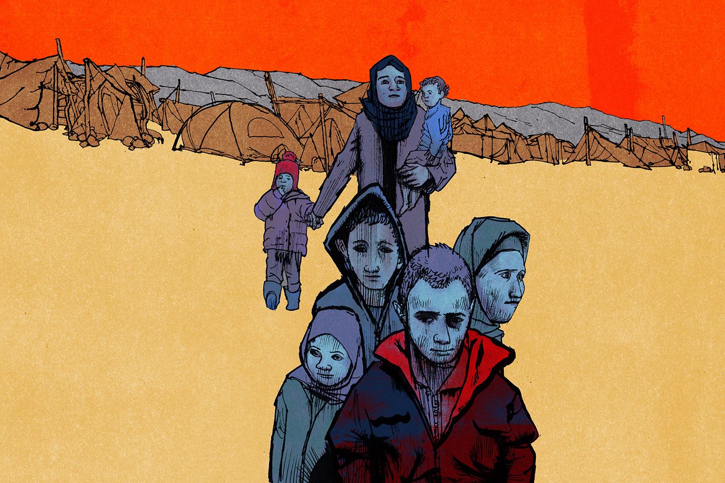 Matt Rota illustration for Foreign Policy