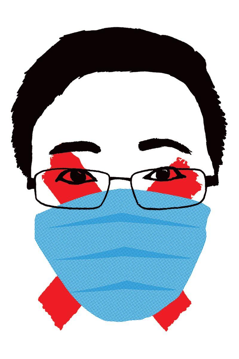 china-pandemic-failure-Li-Wenliang-Tomasz-Walenta-illustration