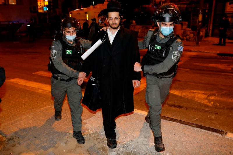 israel covid haredim protests