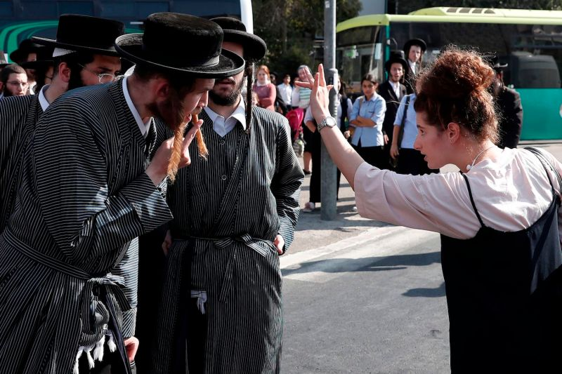 israel religious secular idf protest