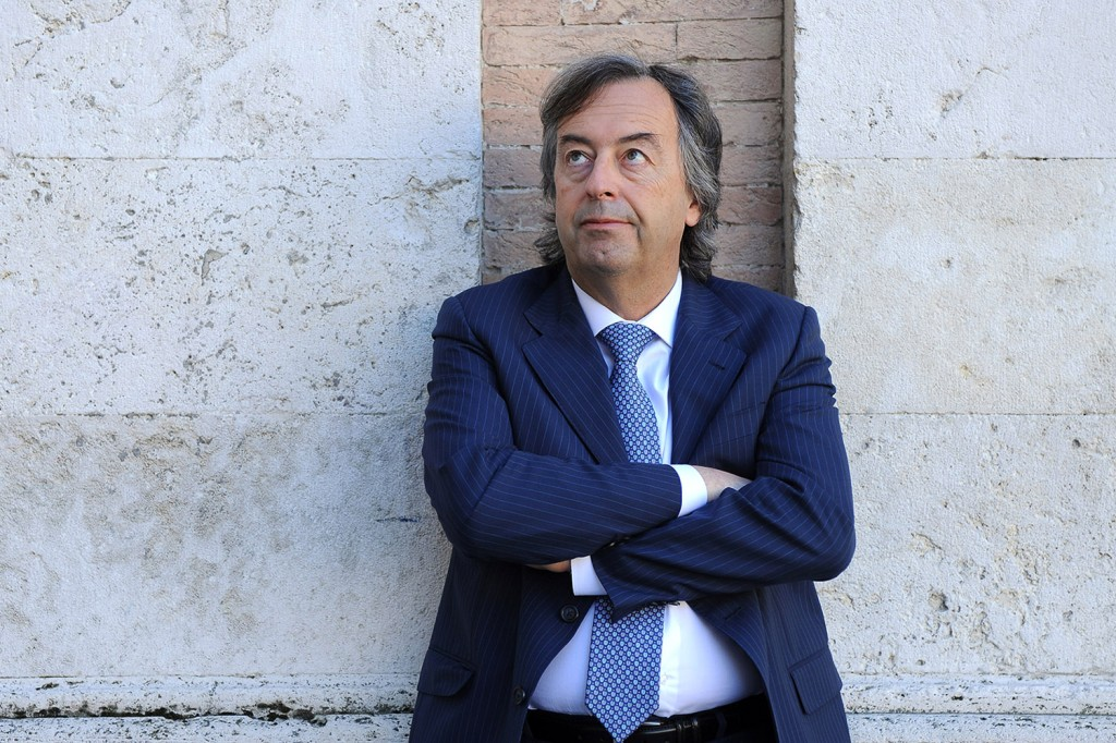 Roberto Burioni photographed in Perugia, Italy, on April 9, 2017.