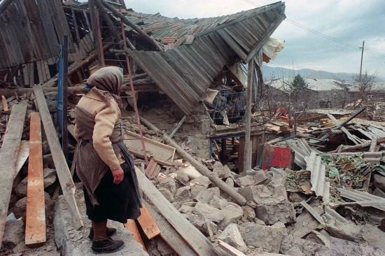 Earthquake in Armenia