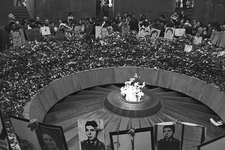 Memorial service in Yerevan