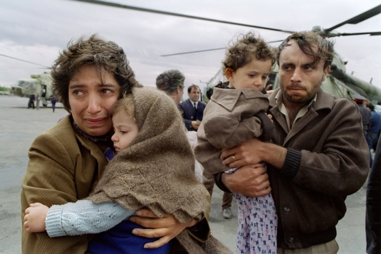 Armenian refugees in 1991