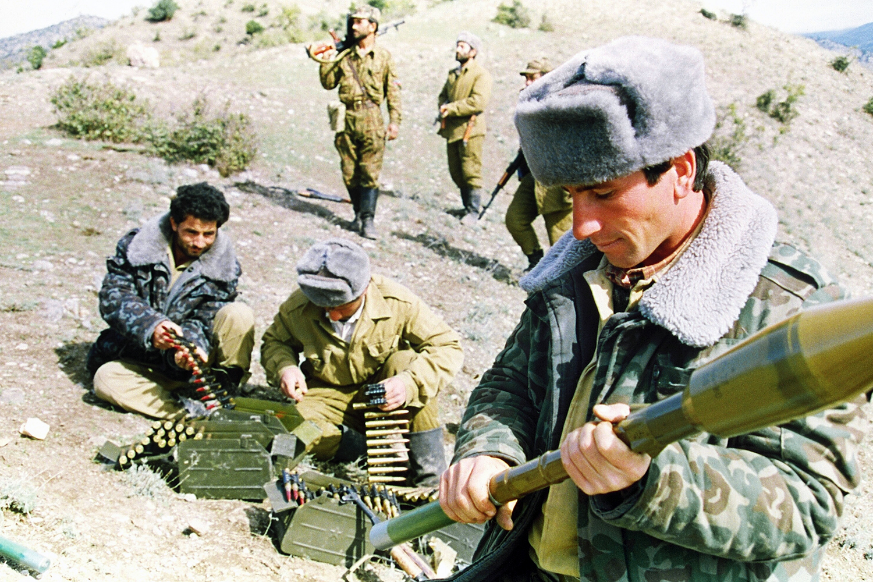 Azerbaijani fighting in 1992