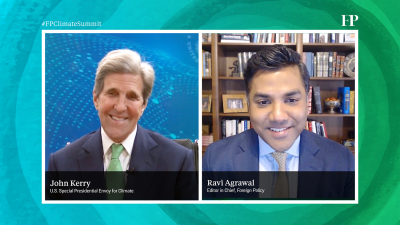 For more from John Kerry, and other climate leaders from around the world, join FP's Virtual Climate Summit, April 27-28. Register here.