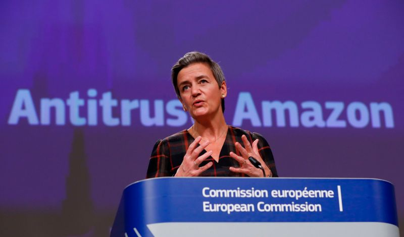 European Executive Vice President Margrethe Vestager