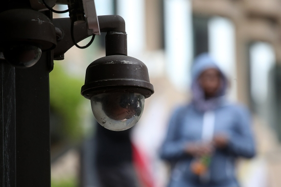 A video surveillance camera