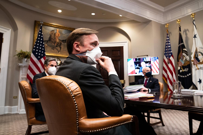 Jake Sullivan at the White House