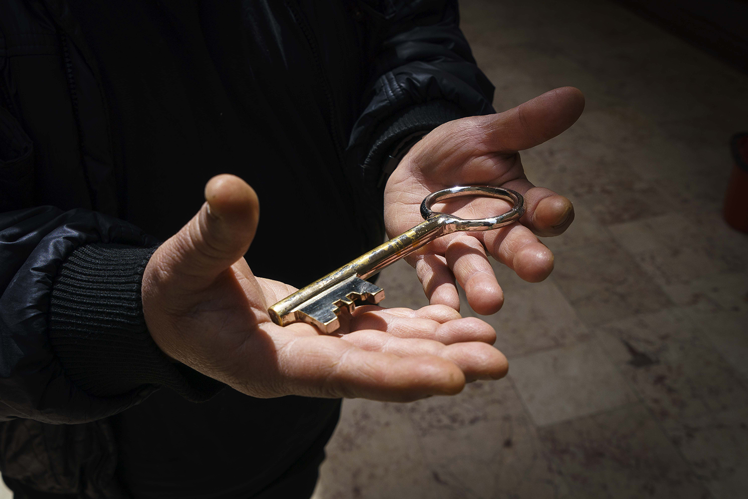 A key to the Surp Hıreşdagabed Church in Istanbul