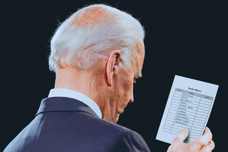 biden-foreign-policy-report-card-100-days-nicolas-ortega-illustration
