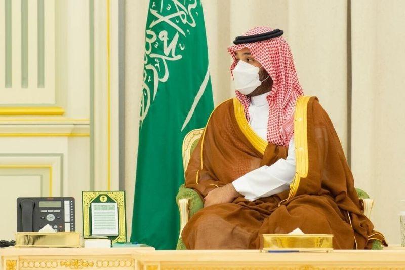 Mohammed bin Salman meets Mustafa Al-Kadhimi.