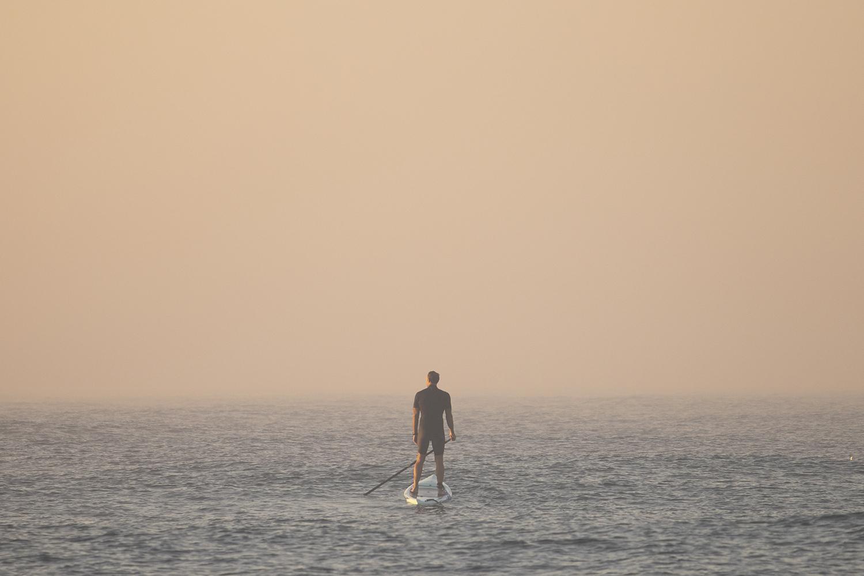 Australian paddle-boarder