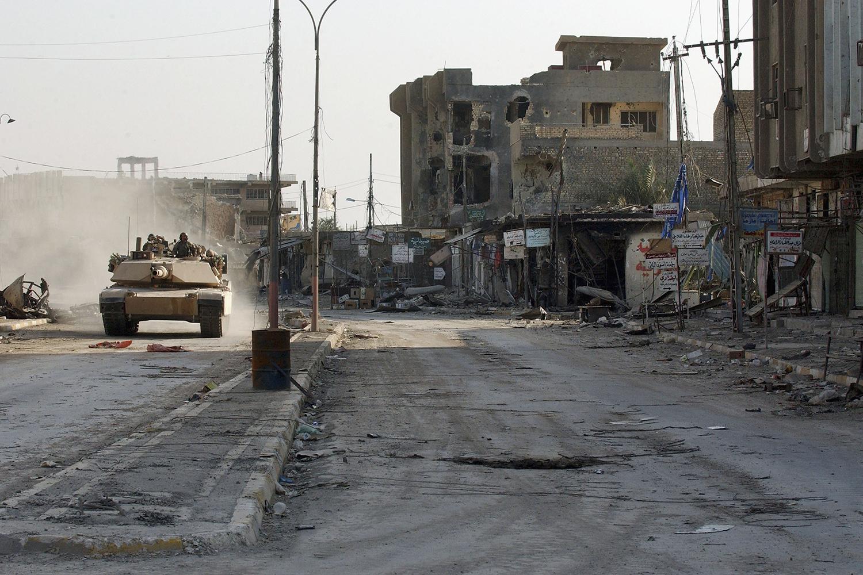 Fallujah, Iraq, in 2004
