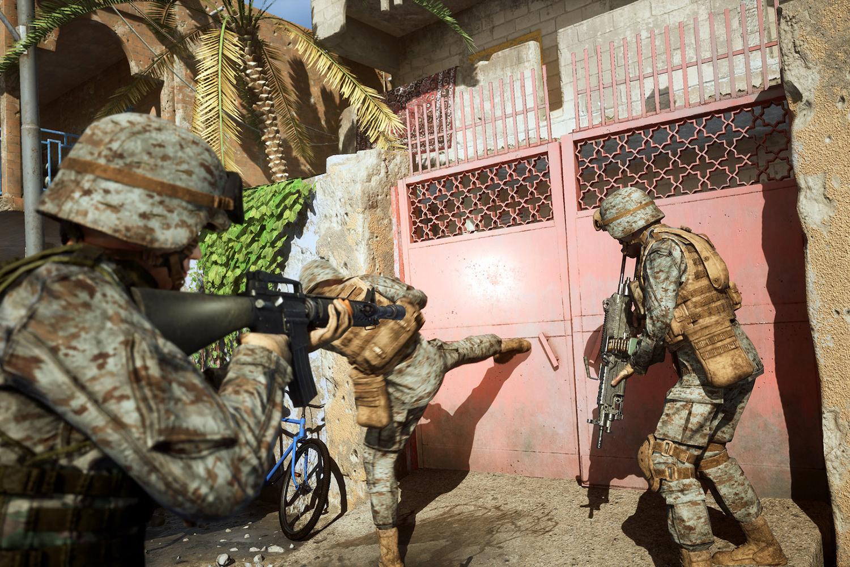 Video game Six Days in Fallujah