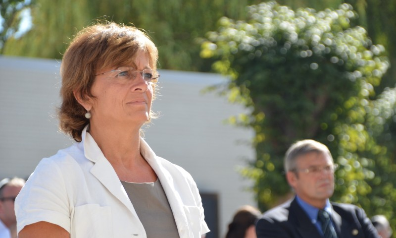 Then-European Parliament Vice President Isabelle Durant