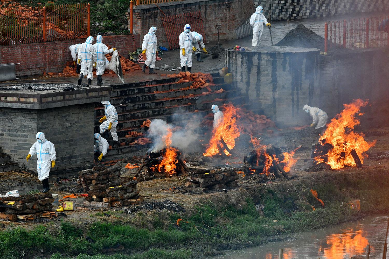 Crematorium in Nepal