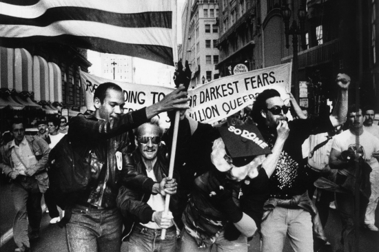 Protest in San Francisco-1986