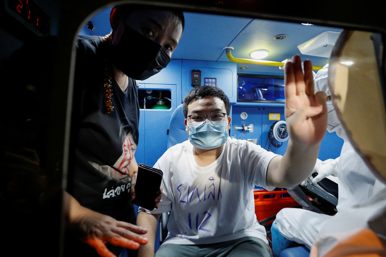 Bangkok protester released