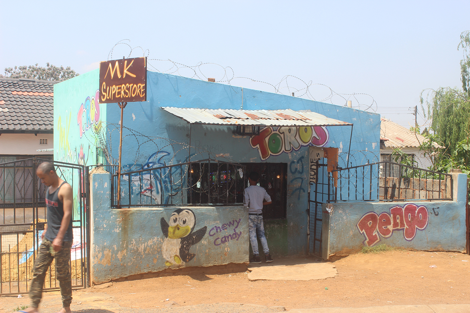 Tuck shop in South Africa