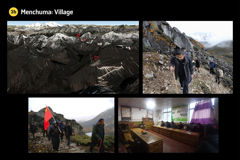 The Menchuma Valley village in Bhutan
