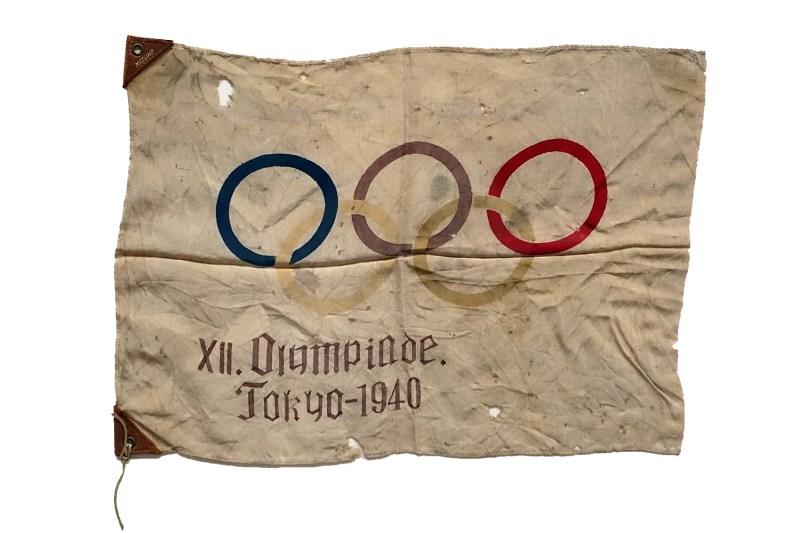 1940 Olympics Flag