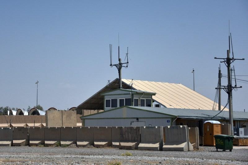 U.S. military base in Afghanistan.